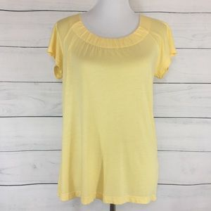 Vince Super Soft Yellow Tee